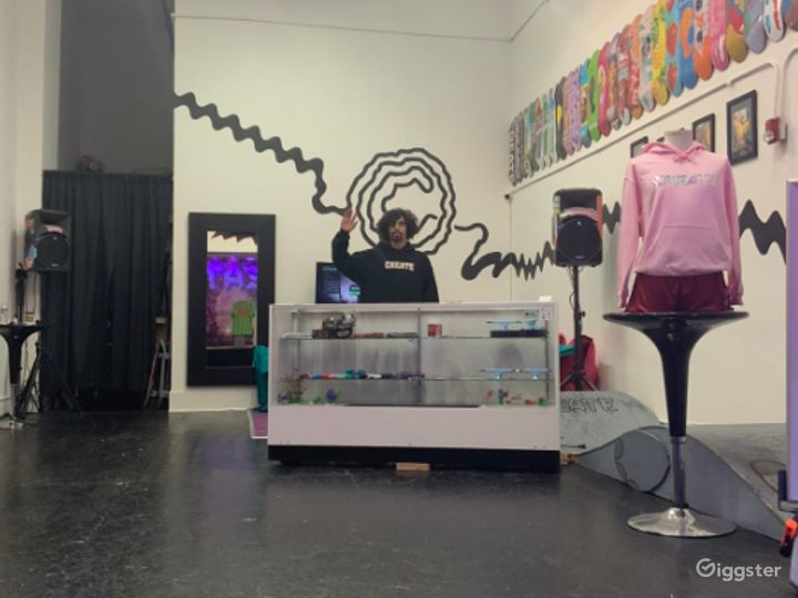 Stylish Skateboard Shop for Productions in SF  Photo 2