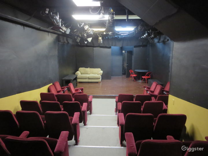 Audience and stage