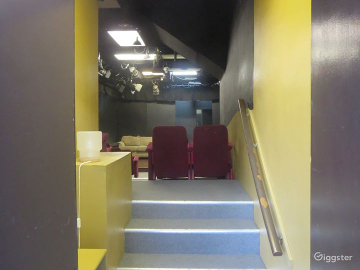 Entrance into Studio A from lobby