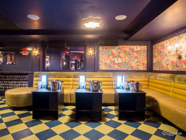 Aesthetic, Victorian Chic Designed NightClub in Boston Photo 3