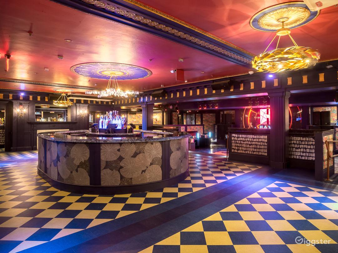 Aesthetic, Victorian Chic Designed NightClub in Boston Photo 1