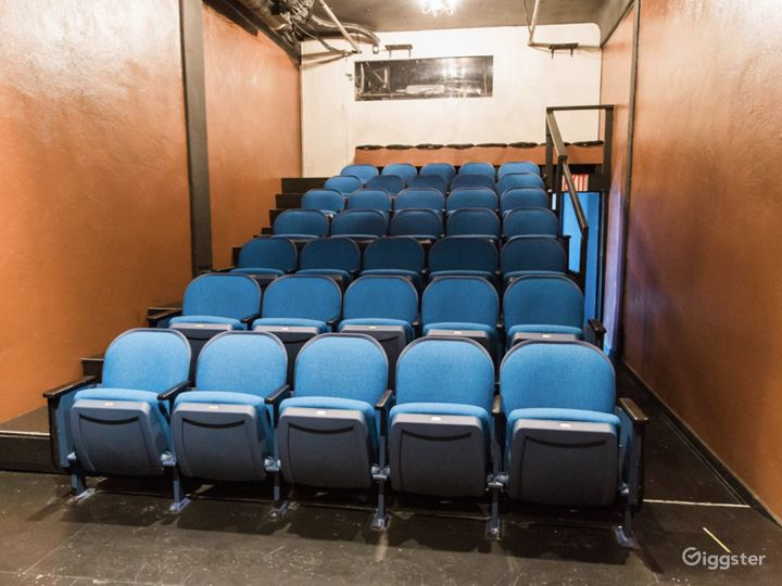 Our 43-seat Guild Theatre