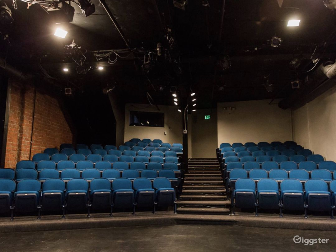 Our 99-seat Mainstage Theatre