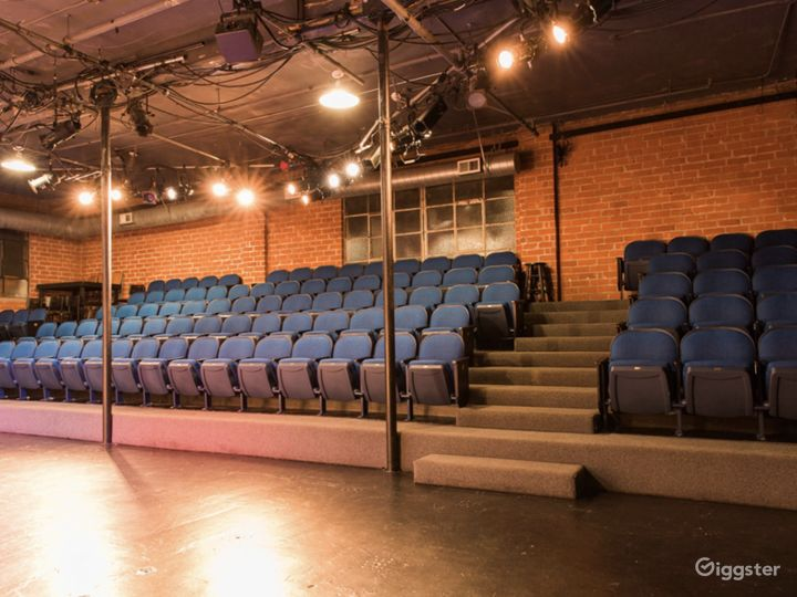 Our 99-seat Backstage Theatre