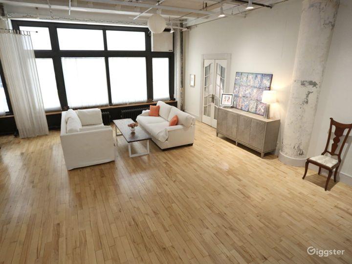 Classic Chelsea Loft Studio
