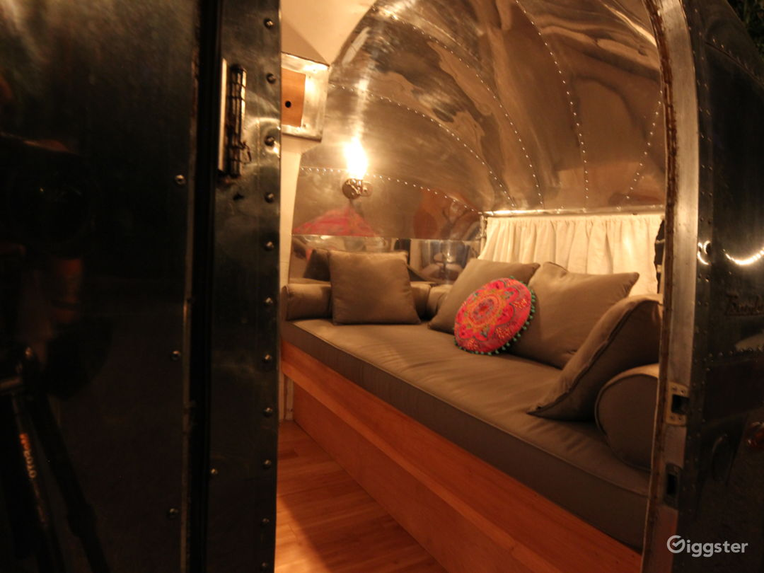 Airstream with polished interior
