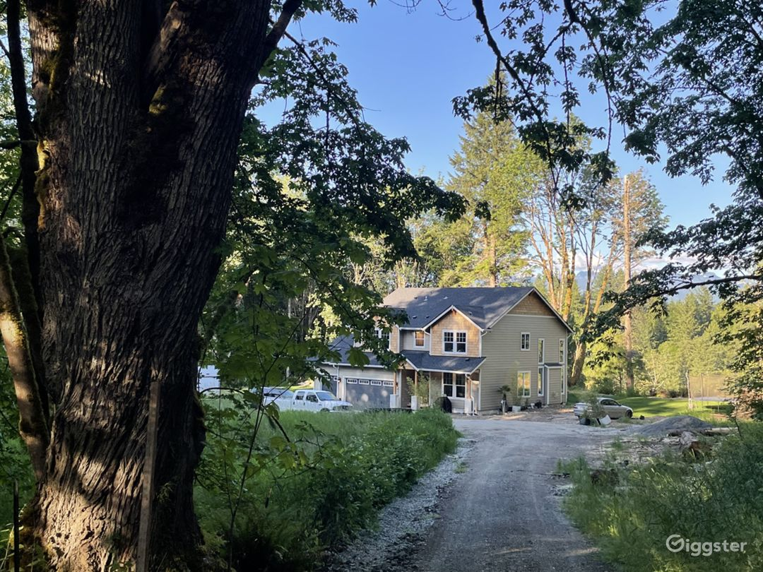 750 foot driveway makes the home and property secluded and private