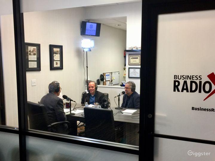 Professional Radio/Podcast Broadcasting Studio Photo 5