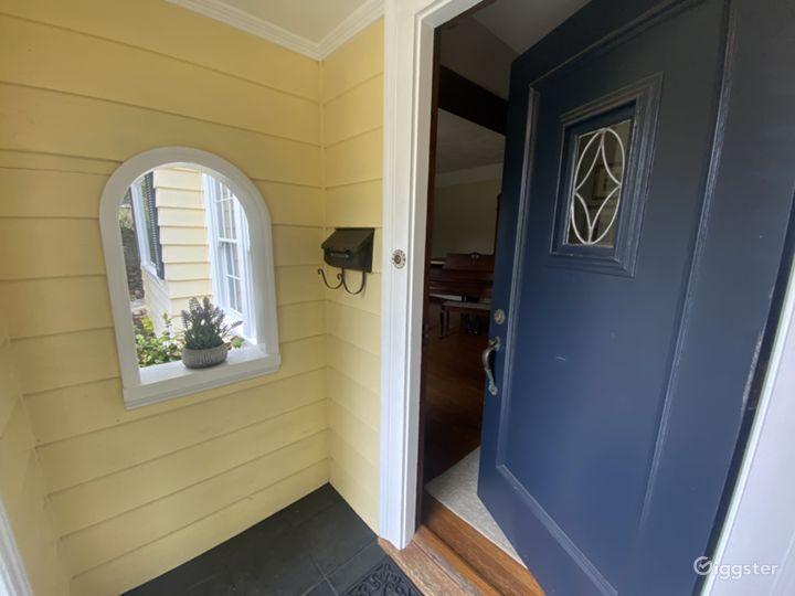 Front Door Alcove