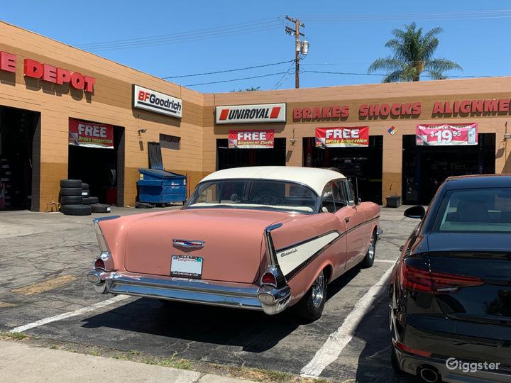 1957 Chevrolet Bel Air. Coral Pink Classic Car Photo 5