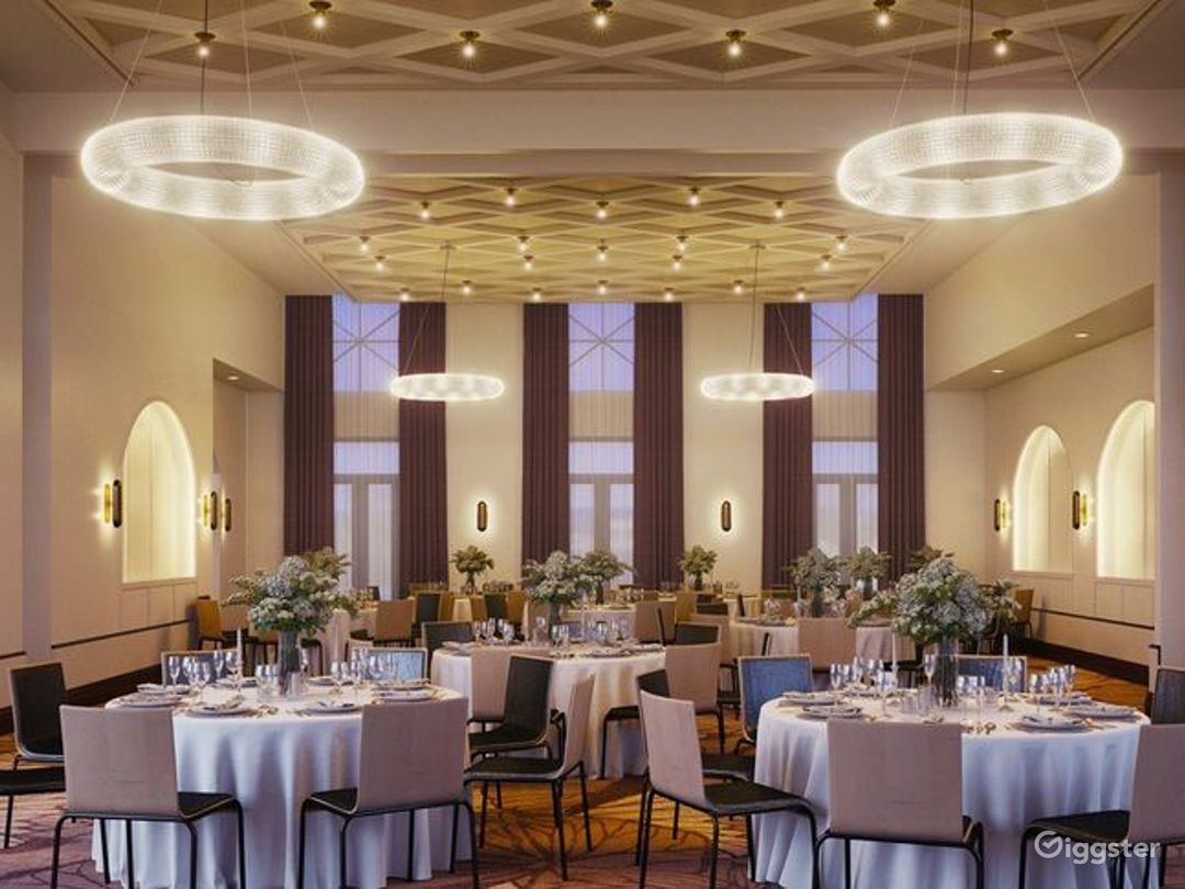 Luxury Ballroom Hotel Venue in Memphis Photo 1