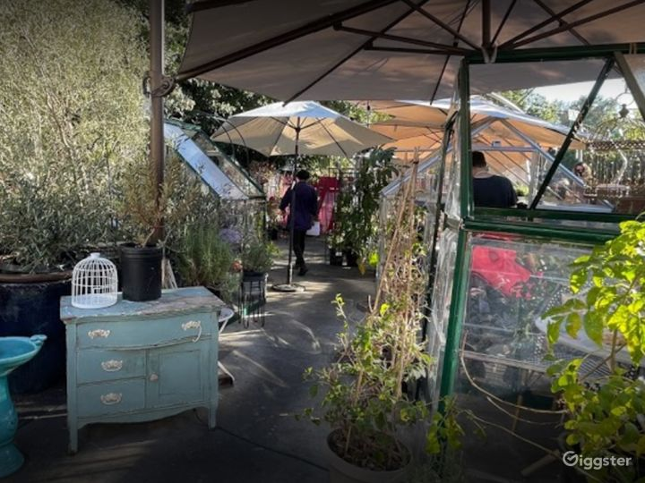 Outdoor and Glass House Dining Space for Events Photo 3
