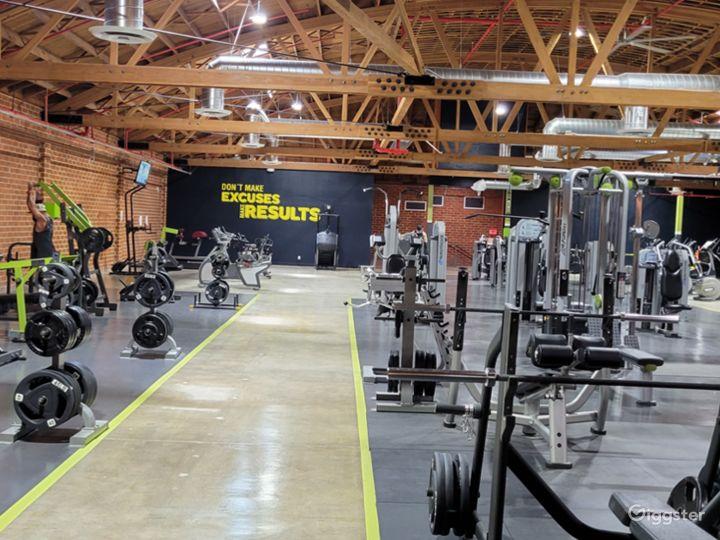 Beautiful Brick Walled Main Gym Area Photo 2