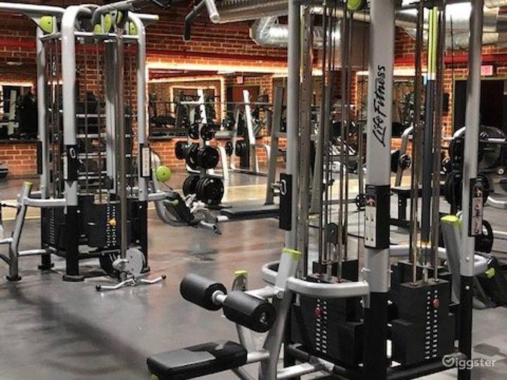 Beautiful Brick Walled Main Gym Area Photo 5