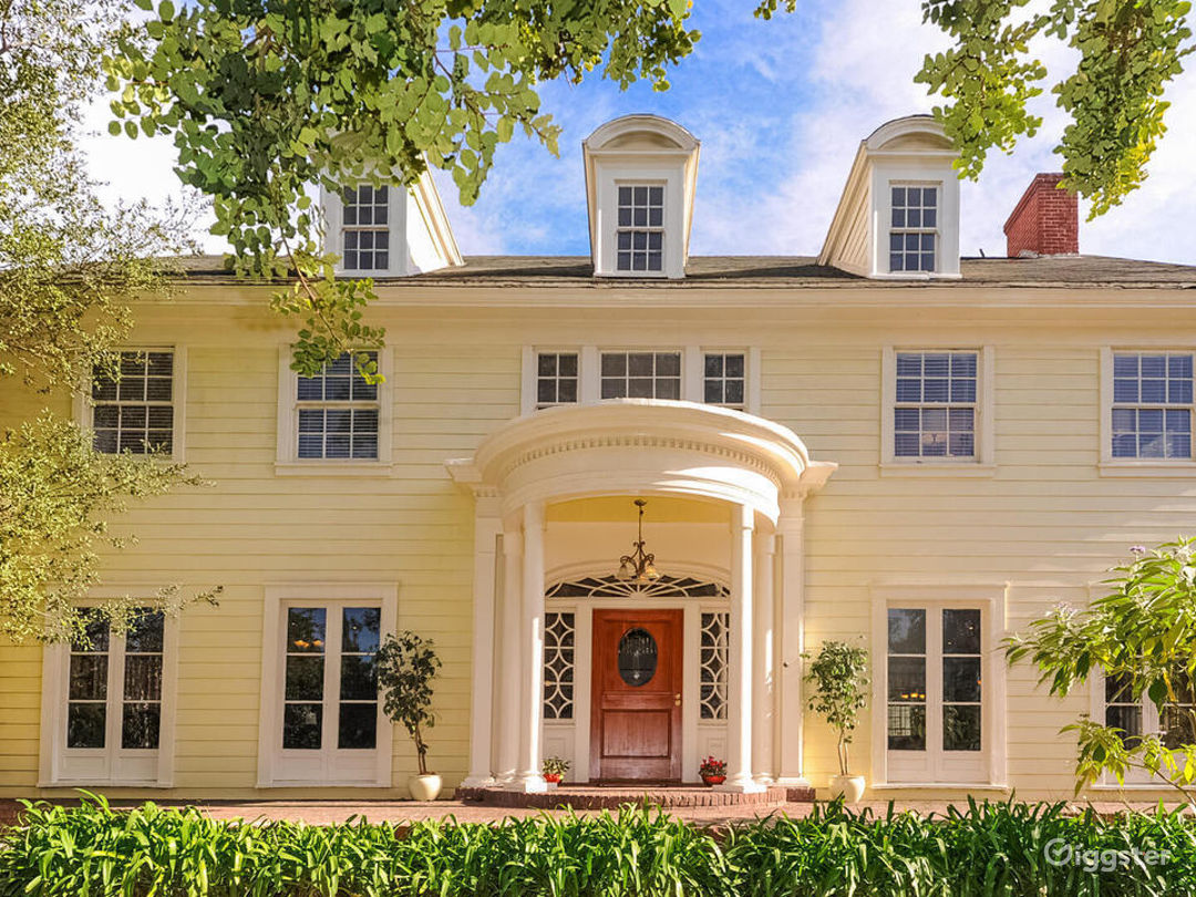 Quintessential Colonial with Large Lot in LA  Photo 1