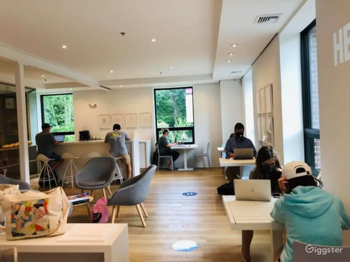 A Comfortable Gallery Space/Lounge in Connecticut Photo 3