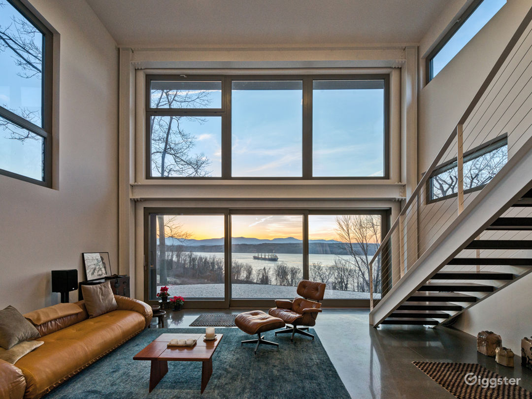 Modern River-View House: Location 5165 Photo 1