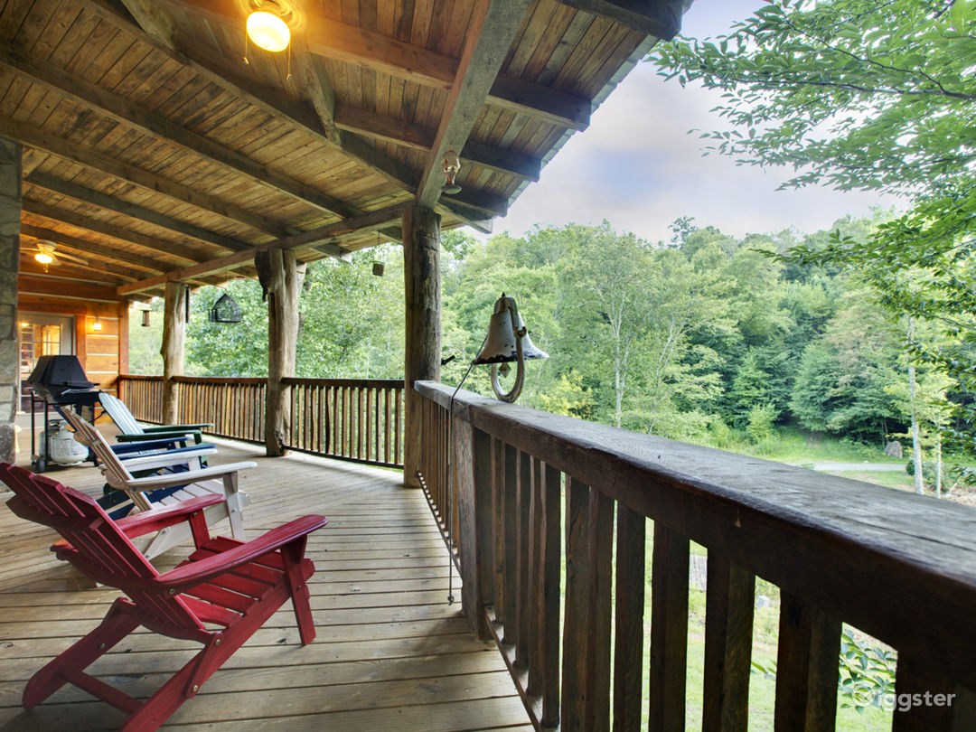 Enjoy the large wrapping porches overlooking 2 ponds
