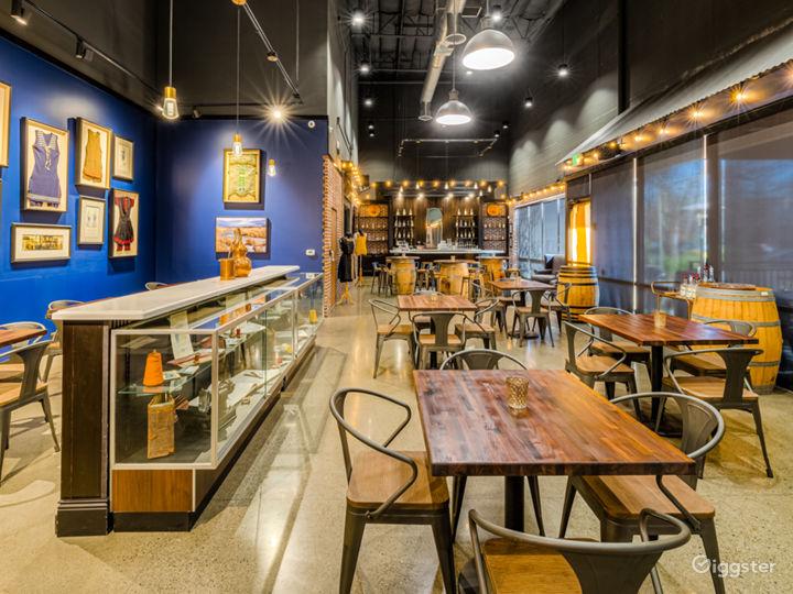 Stylish Tasting Room/Event Space/Bar Photo 5
