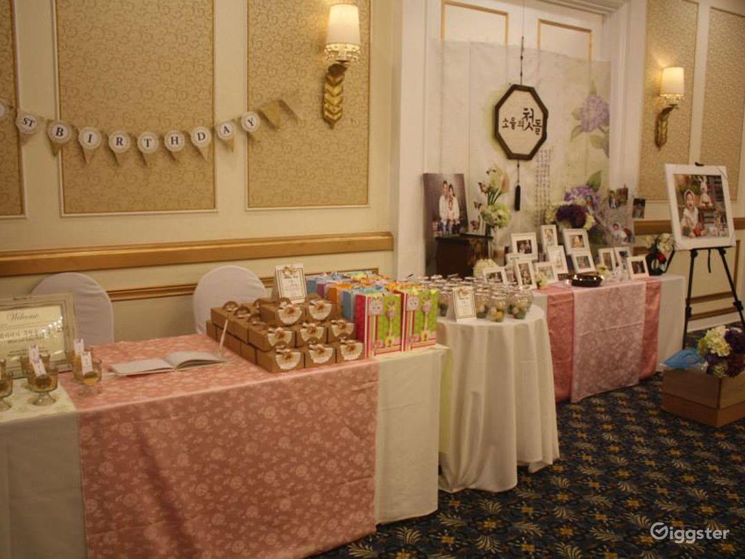 Vibrant Banquet Hall  Photo 1
