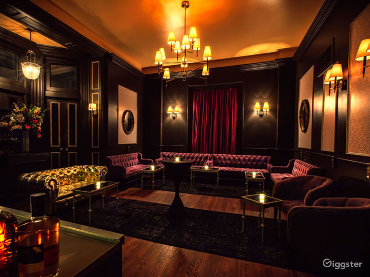 Elegant parlor rooms perfect for shoots and events