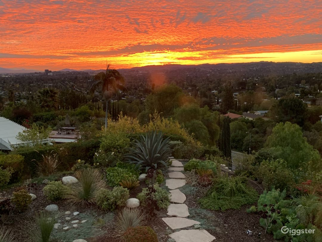 Sunsets are epic here at our home. Views for days. Incredibly unique and amazing backyard.