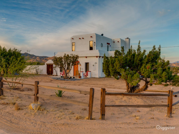 Spanish Adobe meets Desert Revival