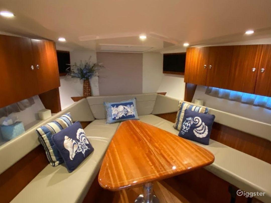 Sporty 36ft Pursuit SC Party Boat Space Events Photo 1
