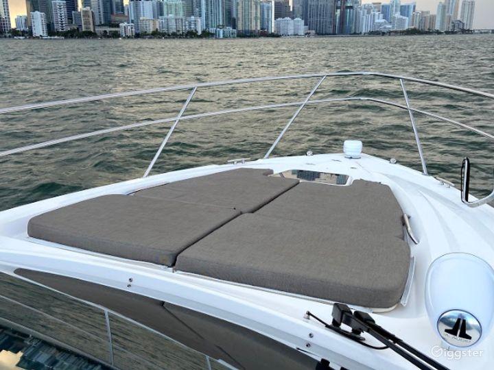 Sporty 36ft Pursuit SC Party Boat Space Events Photo 2