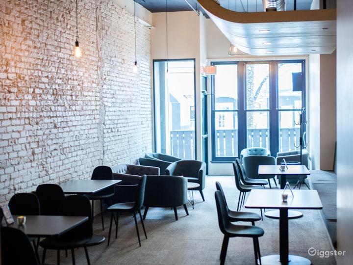 Serene Lounge Area