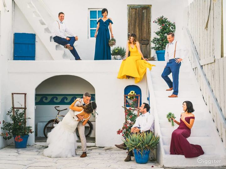 Beautiful Greek Set Studio in Miami Photo 4