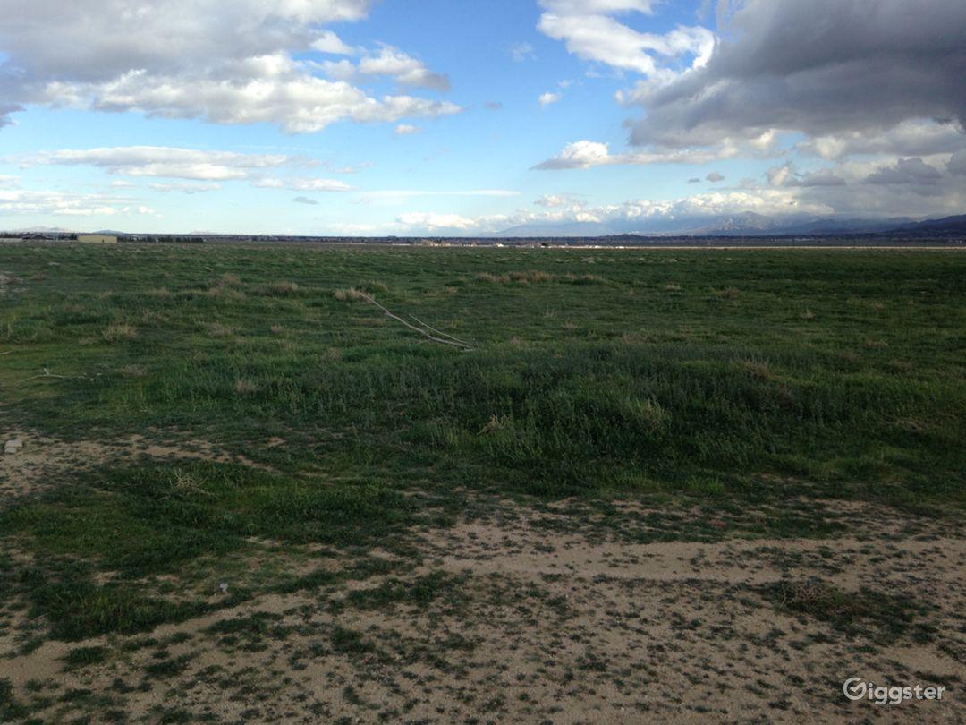 Landing Strip- Desert Photo 1