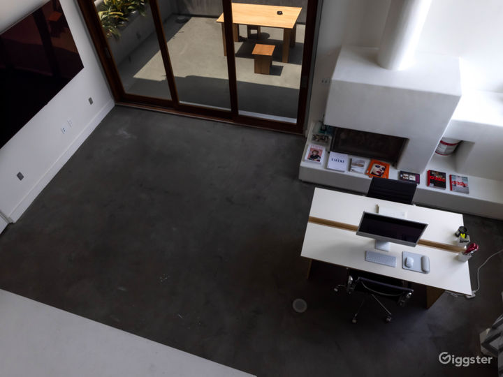 View from the 2nd floor loft (accessible by stairs)