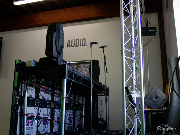 12ft x 8ft Stage (avaiable for rent)