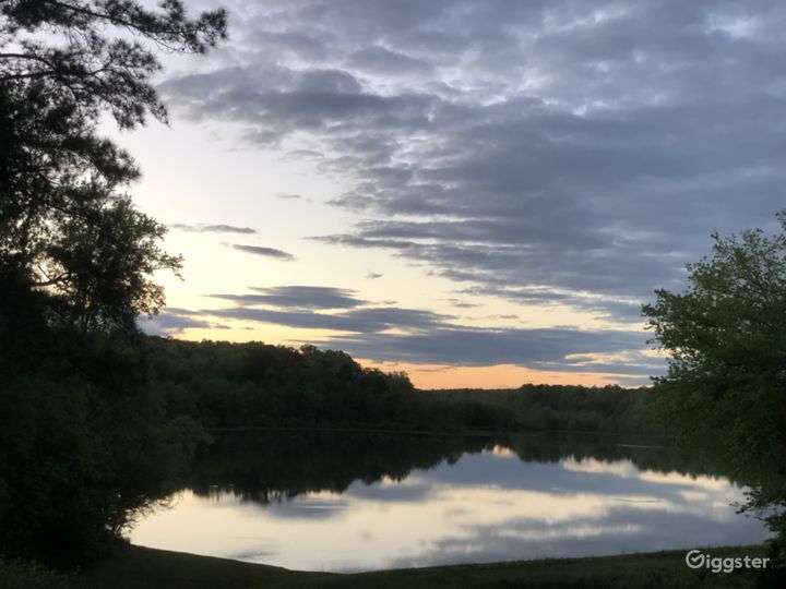 Breath-taking view 35-acre lake 70 acres woodlands