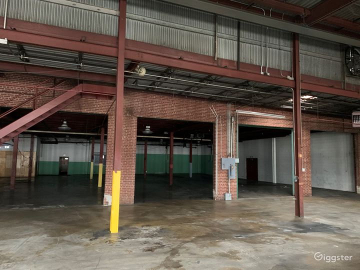 Empty Warehouse off the Beltline
