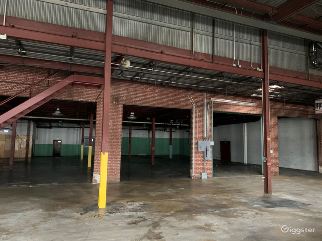 Empty Warehouse off the Beltline Atlanta Rental