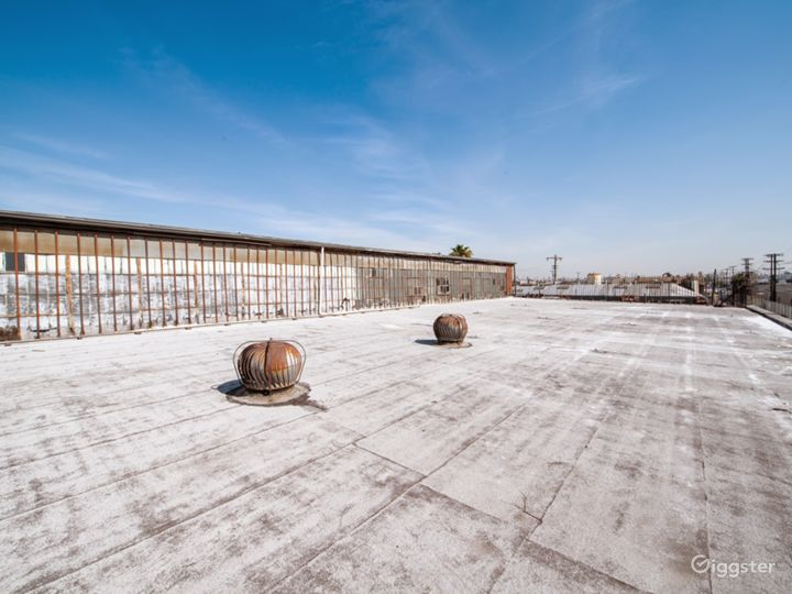 Industrial Rooftop Stage With DTLA Views Photo 2