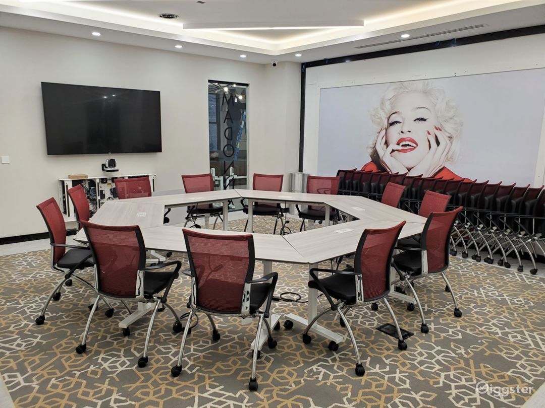 Stunning Conference/Meeting Rooms-filming  Photo 1