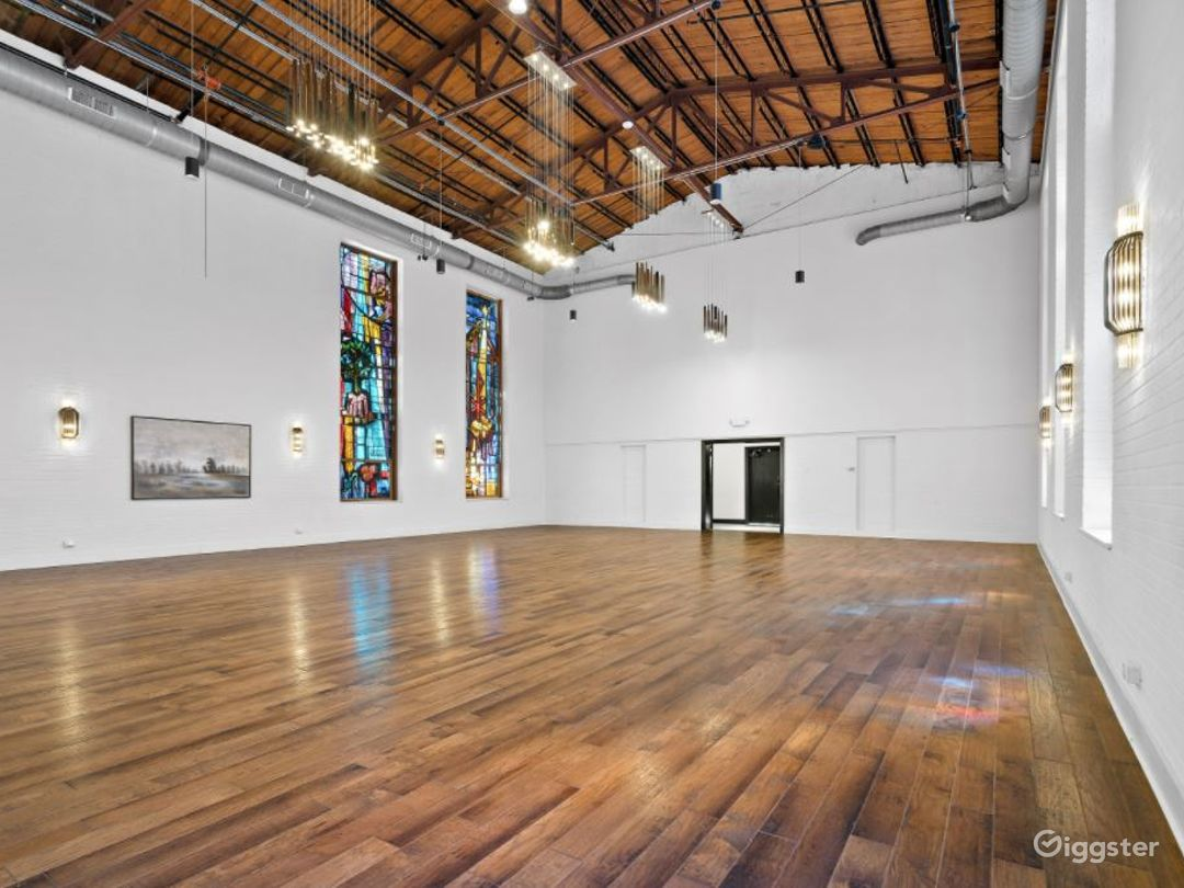 High Ceiling and Spacious Event Space Photo 1