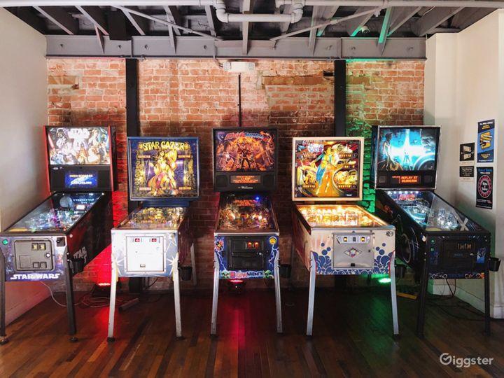Vintage Arcade and Bar w/ Speakeasy Tiki Bar Photo 5