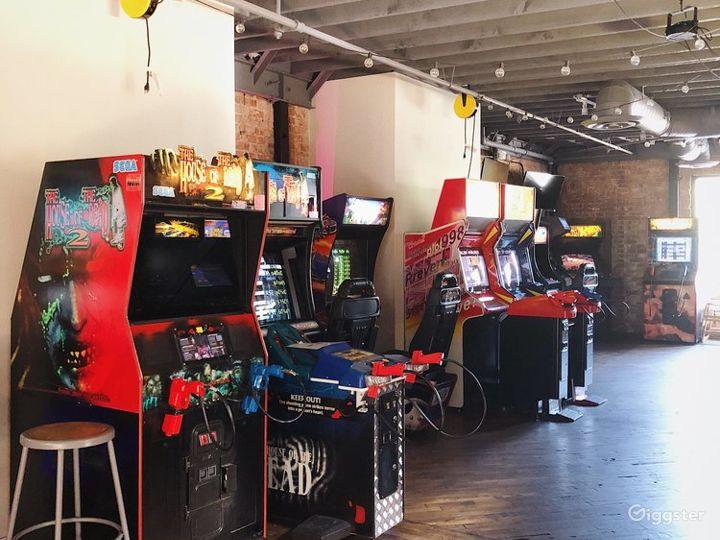 Vintage Arcade and Bar w/ Speakeasy Tiki Bar Photo 4