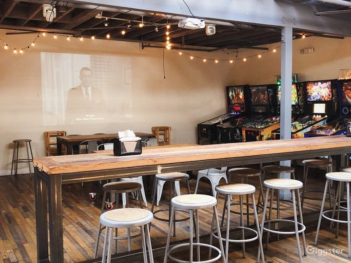 Vintage Arcade and Bar w/ Speakeasy Tiki Bar Photo 3