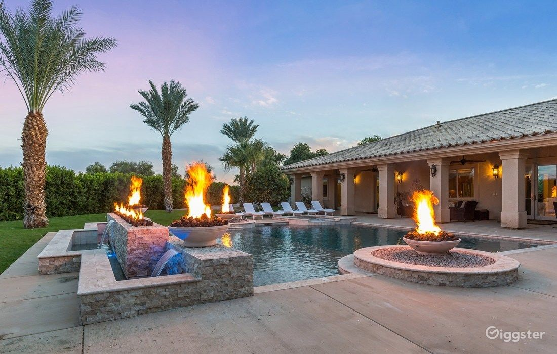 The Date Palm Mansion Estate in Palm Springs