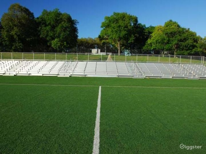 Athletics facility with playing fields: Location 4266 Photo 4