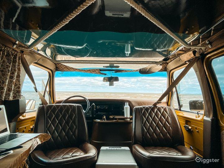 Mid Century Themed Vintage Camper Van Bus  Photo 3