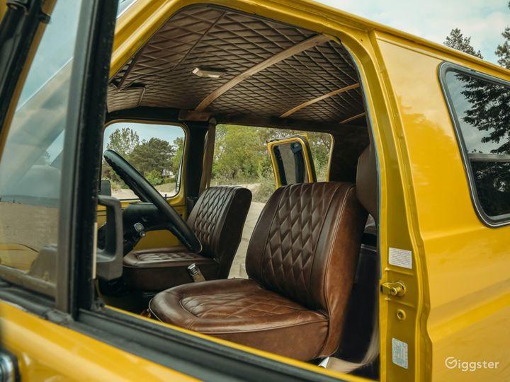 Mid Century Themed Vintage Camper Van Bus  Photo 2