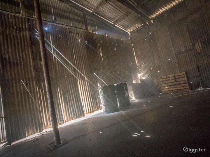 Worn down dingy Warehouse | FilmStudioLA