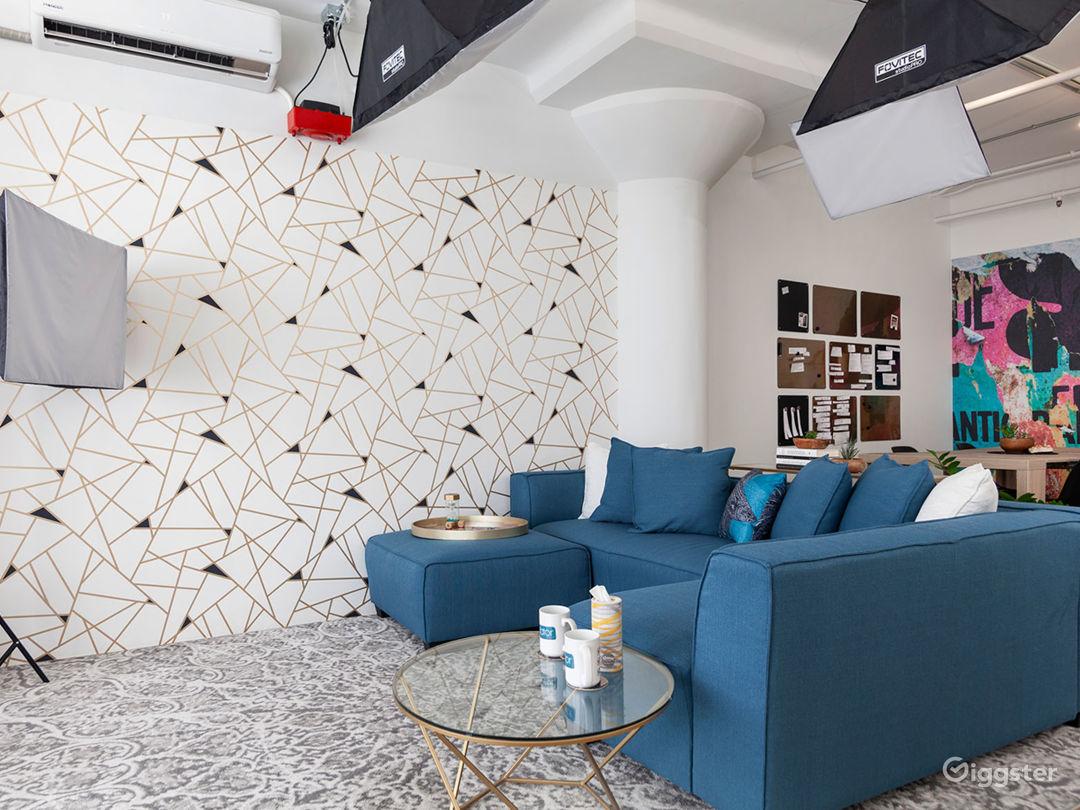 Versatile DTLA Studio Loft with Interview Set Photo 3