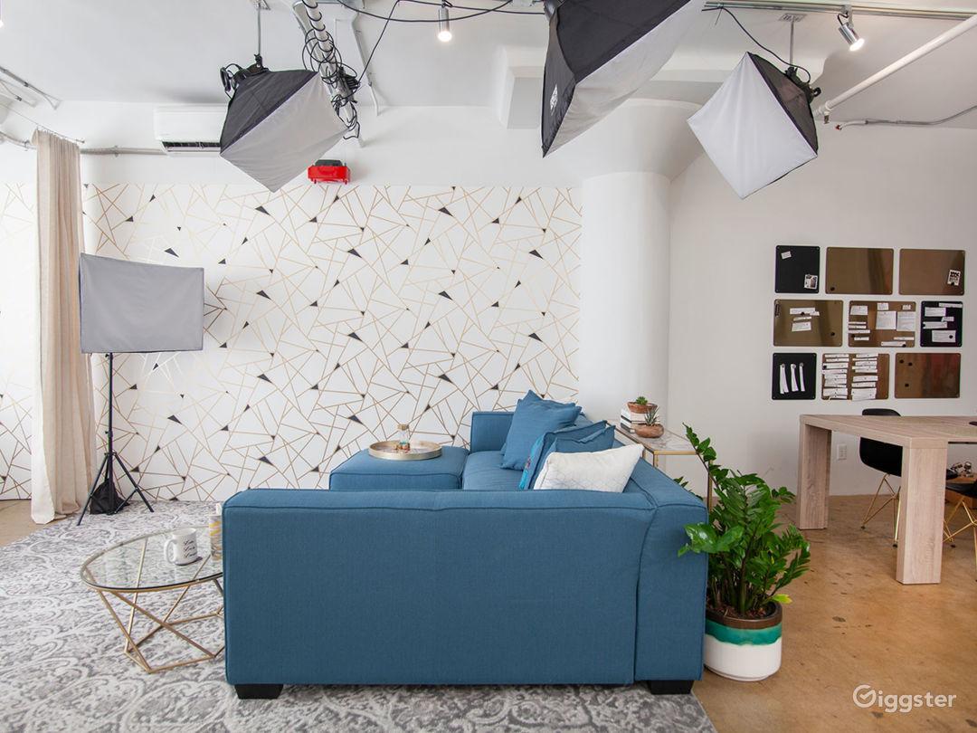 Versatile DTLA Studio Loft with Interview Set Photo 5